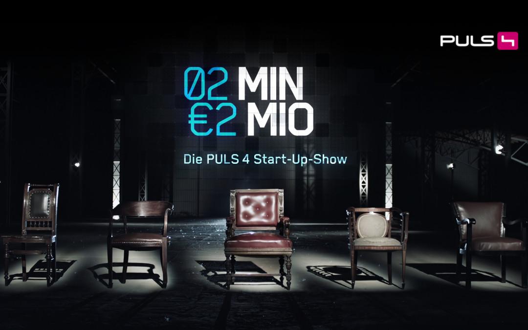 """WUGGL bei TV-Startup-Show """"2 Minuten 2 Millionen"""" (PULS4)"""